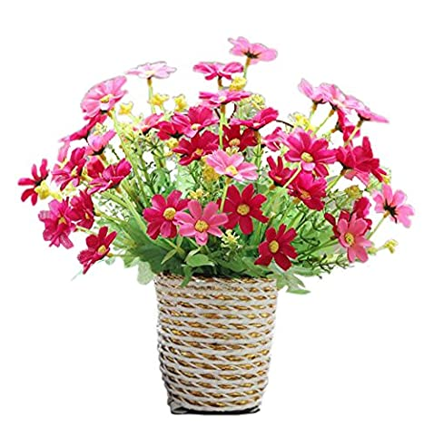 Rose Red Chrysanthemum Hanging Basket Simulation Flowers Artificial Flowers