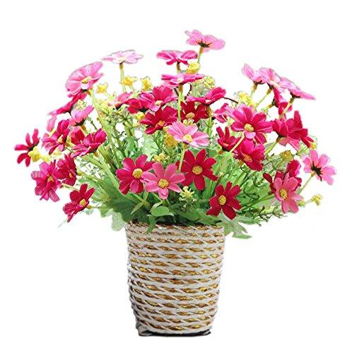 Chrysanthme-artificielle-en-Panier-suspendu-Simulation-Flowers-Fleurs-Artificielles-Rose