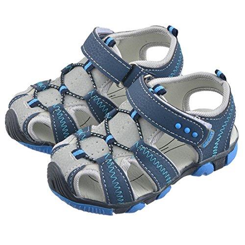 Vertvie Baby Jungen Kinder Boy Sommer Sport Sandale Schuhe rutschfest Wildledersohle Lauflernschuhe mit Klettverschluss Test