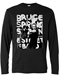 de9be76e89 Camiseta de manga larga hombre - Bruce Springsteen - Grunge Design - Long  Sleeve 100%