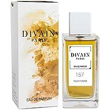 DIVAIN-157 / Similar a Agua Fresca de Rosas Blancas de Adolfo Dominguez / Agua de perfume para mujer, vaporizador 100 ml
