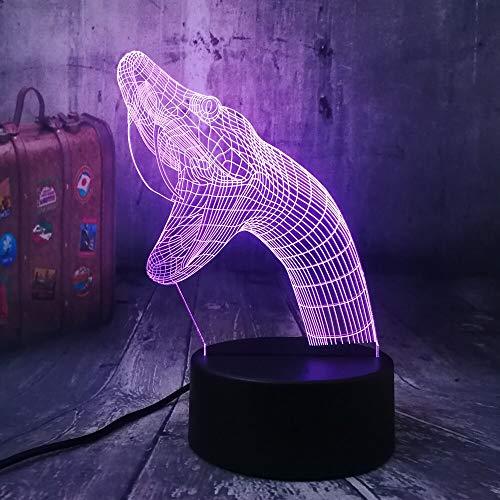 Tywwan Neue Tier Schlange Naja Viper Reptilia Biologische 3D Led Nachtlicht Tischlampe Wohnkultur Kid Boy Spielzeug Geburtstag Weihnachtsgeschenk