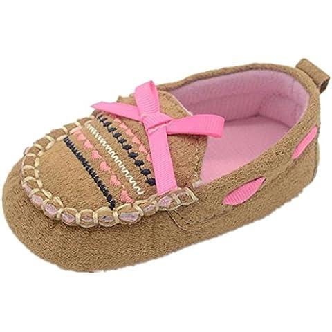 Zapatos De Bebé, RETUROM Blando Adecuado Para BebÉ Zapatos De BebÉ De La Muchacha Del Cabrito Muchacho Suave Sole Zapatilla De Deporte Para Niños
