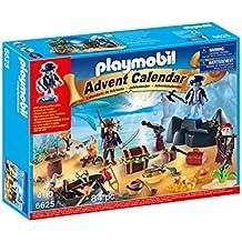 "Playmobil - Calendario de navidad ""Isla del tesoro pirata"" (66250)"