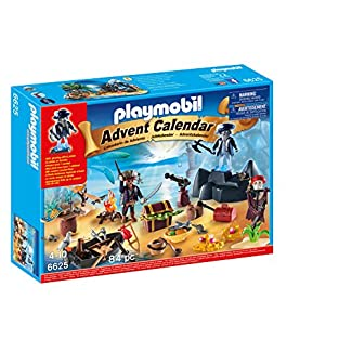 PLAYMOBIL – Calendario de Navidad Isla del Tesoro Pirata (66250)