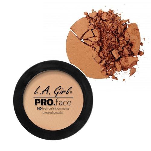 LA GIRL PRO Face Powder - GPP613 Toffee + 1 Free Nail Polish by LA Girl USA Cosmetics