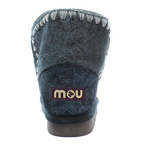Mou Bottes en mouton Eskimo 18 Dust Blue Dust Blue
