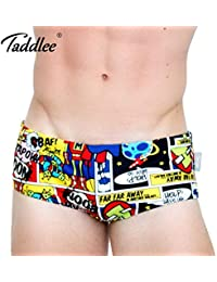 a5c0bc4c00 INF Taddlee Brand 2017 Sexy Men Swimwear Swimsuits Swim Boxer Briefs 3D  Printed Men's Board Beach