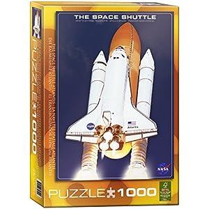 Puzzle de 1000 Piezas del Transbordador Espacial Atlantis 04.954 de Euros Gráficos
