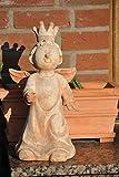 Engel aus Terracotta,niedliche Weihnachtsdekoration,46cm hoch - 3