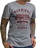 The Walking Dead – Terminus – Lerage Shirt Hemd XL grau