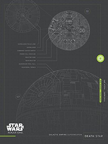 Star Wars Rogue One Death Pläne Leinwanddruck, mehrfarbig, 60x 80cm