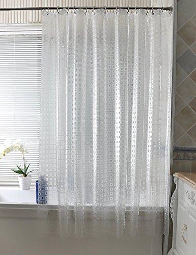 Fancy Duschvorhänge Wasserdichte Dusche Wasserdichte Duschvorhang Badezimmer Vorhänge Toilette Vorhänge Opaque Vorhang Teal Duschvorhang ( größe : 180*220CM ) (Duschvorhänge Teal Badezimmer)