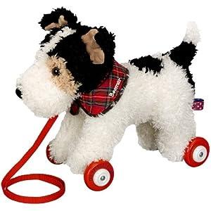 Funny Animal Parade Foxterrier trainabile cane, 27cm, modello # 10446