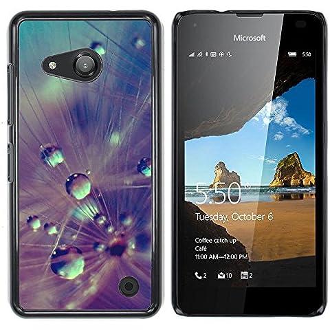 NOKIA Lumia 550 , Cassa Cover Guscio Di Plastica (Fluff Wet)