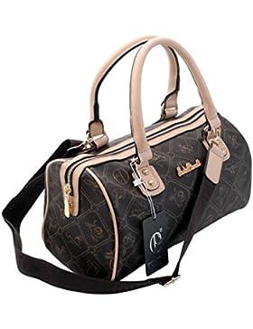 Designer Bowlingtasche von Giulia Pieralli - Handtasche , Umhängetasche , Schultertasche ( Farbauswahl ) - präsentiert...