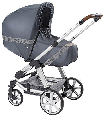 reer 84031 DesignLine RainSafe Classic+ Regenschutz für Kombi-Kinderwagen