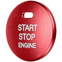 Ahomi - Tapón de botón de encendido del motor del coche