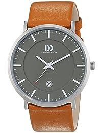 Danish Design Herren-Armbanduhr Analog Quarz Leder 3314515