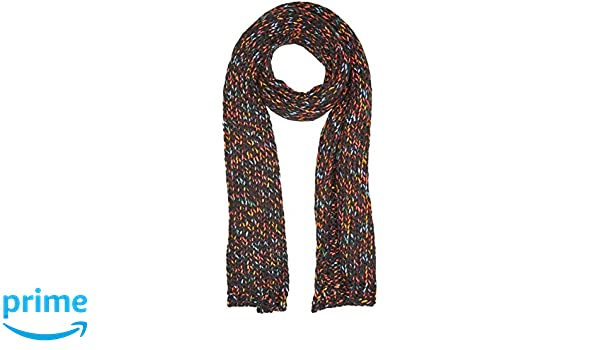 Womens Confetti Scarf, Black (Noir Regular Black), One Size (Manufacturer Size: UN) Levi's