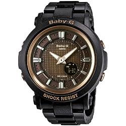 Casio BGA-301-1AER - Reloj de cuarzo para mujeres, color negro