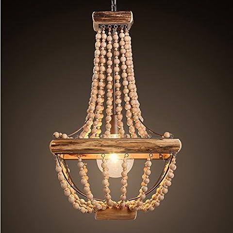 KHSKX Rustico americano a mano lampadario di