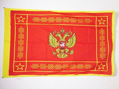 DRAPEAU FORCES ARMÉES DE LA FÉDÉRATION DE RUSSIE 150x90cm - DRAPEAU DE L'ARMÉE RUSSE 90 x 150 cm Fourreau pour hampe - AZ FLAG