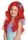 Disguise Ariel Ultra Prestige Child Disney Princess The Little Mermaid Wig, One Size Child, One Color by Disguise