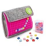 Pixelbags Geldbörse Pink