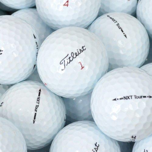 Value Pack Cut Outs (Second Chance Golfbälle 100 Titleist Nxt Tour Lake A-Qualität, weiß, PRE-100-BOX-TIT-NXTT)