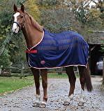 Weatherbeeta Scrim Pony/Horse Cooler Standard - Navy/Red/White: 6ft9""