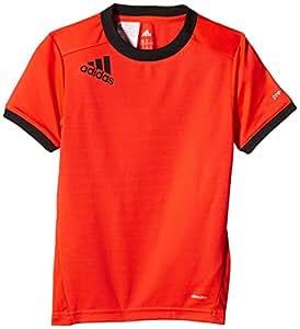 adidas Jungen Fußball Shirt Predator Climalite Tee, Infrared/Black, 164, G92285