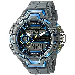 UPhasE Quartz Watch with White Dial Analogue-Digital Quartz Chronograph, 703-150 up