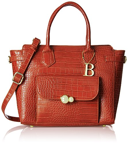 Bulaggi - Saura Handbag, cartella Donna Arancione (Burnt Orange)