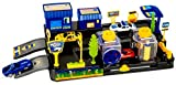 #9: Toyshine Car Wash Play Set Track Set with 2 Cars, Accessories
