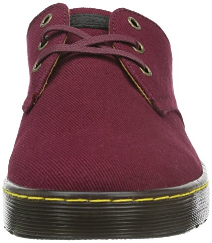 Dr. Martens Unisex-Erwachsene Cruise Delray Old Oxblood O. T Derby Old Oxblood Overdyed Twill Canvas