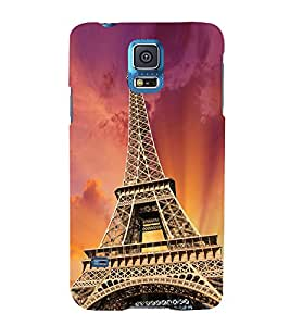Paris Wonder 3D Hard Polycarbonate Designer Back Case Cover for Samsung Galaxy S5 Mini :: Samsung Galaxy S5 Mini G800F