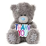 "Me to You SG01W4078 Tatty Teddy Plüschfigur mit Schild ""Thank You"", 12,7 cm Hoch"