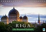Riga: Die Hauptstadt Lettlands (Tischkalender 2019 DIN A5 quer): Die Hansestadt Riga ist die größte Stadt des Baltikums (Monatskalender, 14 Seiten ) (CALVENDO Orte)