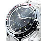 Vostok Amphibia Ejercito ruso 200m WR Mecanico AUTO Reloj de cuerda...