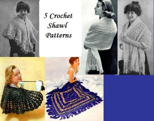 5 Schemi di scialle (Scialle Pattern Maglia)