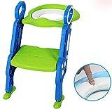 L&YEntrenador de baño Potty Step para niños y niños de entrenamiento de asiento , green