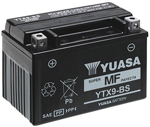 MIM Distribution Batteria YUASA YTX9-BS 12 V 8 AH per Yamaha X-Max ABS 250 2011/2013 per Yamaha-X-Max 250 dal 2005 Fino al 2013