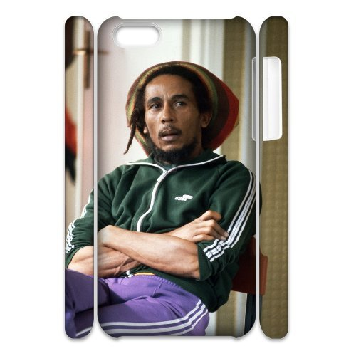 LP-LG Phone Case Of Bob Marley For Iphone 4/4s [Pattern-6] Pattern-4