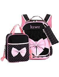 Di Grazia Bow Hearts Design Girls Backpack 71c905b4cf693