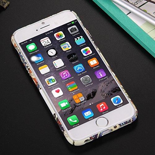 YAN Für iPhone 6 Plus / 6s Plus, National Style Pattern PC Schutzhülle ( SKU : IP6P0959H ) IP6P0959A
