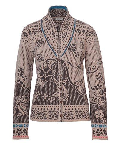 3b59486cef7 Ivko Collar Jacket Floral Pattern beige (72511) 42