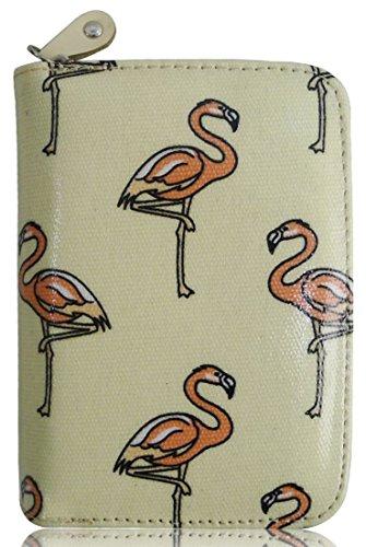 Kukubird Piccola Borsa Flamingo Con Il Sacchetto Di Polvere Di Kukubird Beige