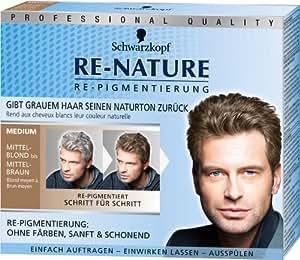 Schwarzkopf Re-Nature Medium für Männer Repigmentierung