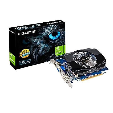 GIGABYTE GeForce GT 730 2GB DDR3 D-Sub DVI-D HDMI